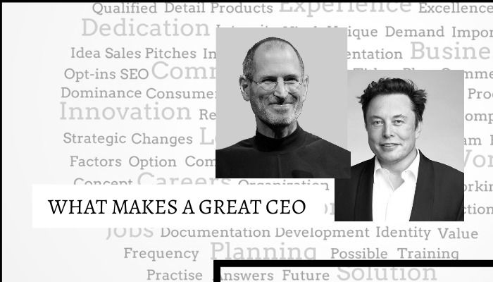 What makes a great CEO